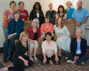 Students at an AAMET EFT Level 1/Level 2 Training, Vermont, US, 2011