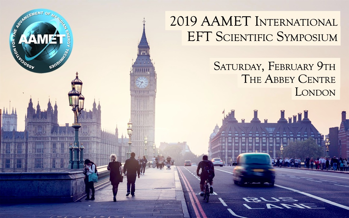 A graphic for the 2019 AAMET EFT Scientific Symposium