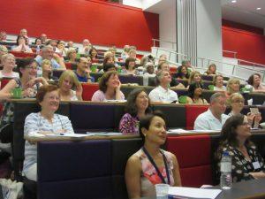 Participants at the 2015 EFT Scientific Symposium, Staffordshire University, UK